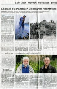 Article Ouest-France du 1er juin 2019 version papier